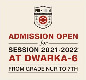 Presidium School Dwarka 6 | Best Formal Schools in Dwarka Delhi